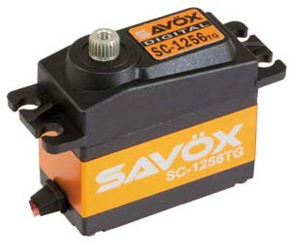 Savox SC-1256TG High Torque Titanium Gear Digital Servo Traxxas Slash E-Revo