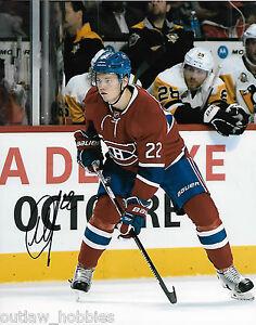 Montreal-Canadiens-Mikhail-Sergachev-Signed-Autographed-8x10-Photo-COA-B