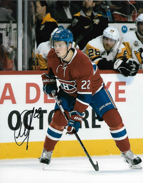 Montreal Canadiens Mikhail Sergachev Signed Autographed 8x10 Photo COA B