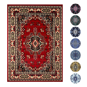 Traditional-Oriental-Medallion-Area-Rug-Persian-Style-Carpet-Runner-Mat-AllSizes