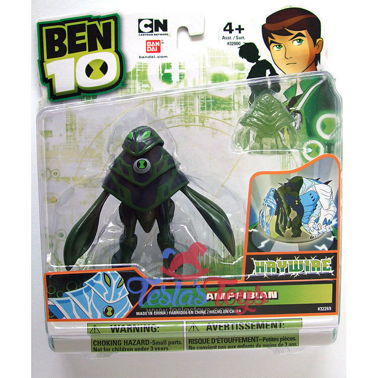 Ben 10 Ultimate Alien Action Figure - - - Ampfibian (Haywire) 25e86d
