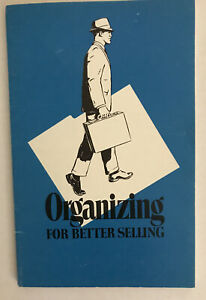 """Vintage Rare Book """"Organizing For Better Selling"""" Bethards 1971"""
