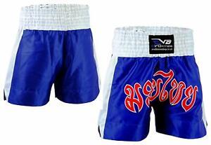 EVO Muay Thai Arti Marziali Cage Combattere Pantaloncini MMA Kick Boxing UFC Grappling Gear
