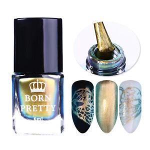6-Ml-Camaleon-Stamping-polaco-Colorido-Nail-Art-barniz-de-Impresion-BORN-PRETTY-Hagalo-usted-mismo