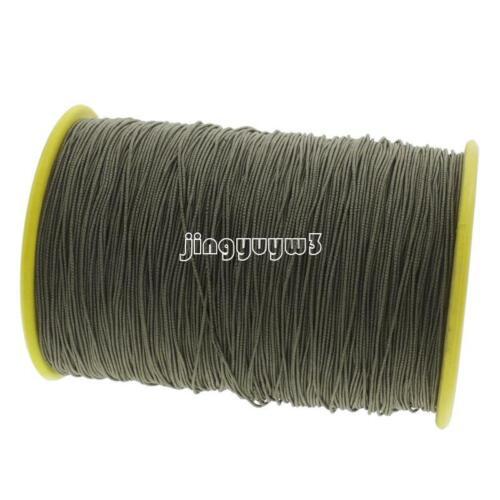 500m Nylon Cord Thread Chinese Knot Chain Rattail Bracelet Jewelry Making Tool