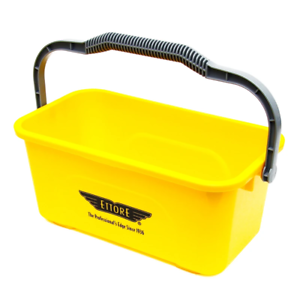Ettore 3 Gallon Compact Super Bucket for Window Cleaning & Washing