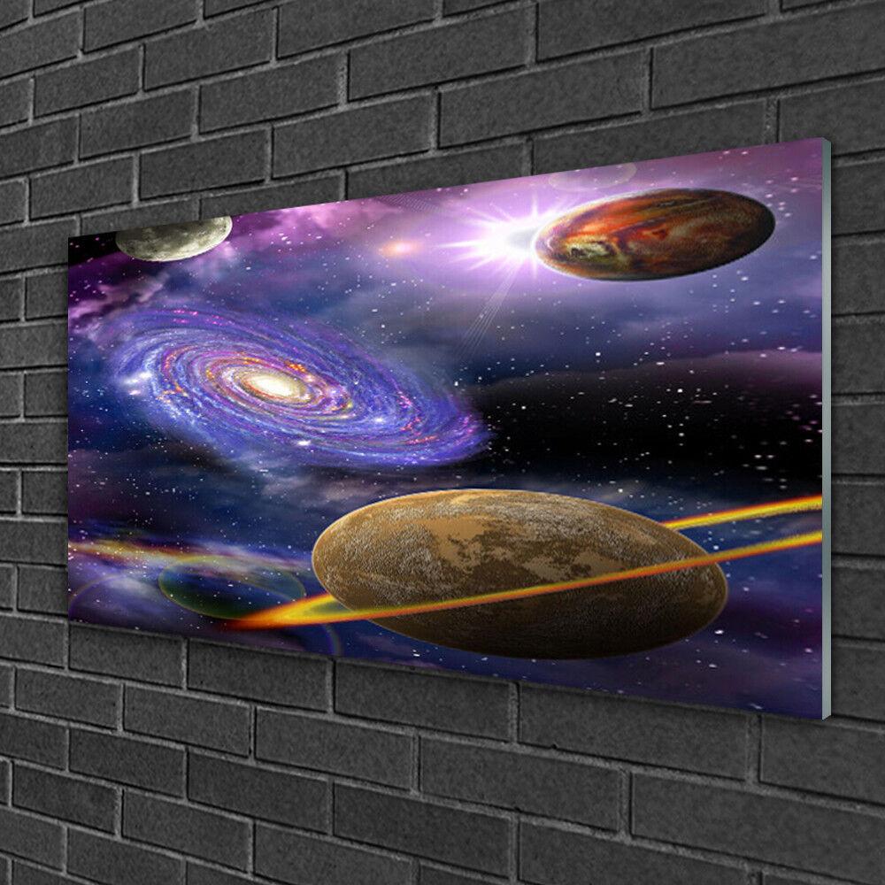 Tableau sur Plexiglas® Image Impression 100x50 Univers Univers