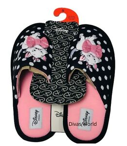 Disney Marie The Aristocats SLIPPERS In A Gift Box Ladies Soft Mules Primark