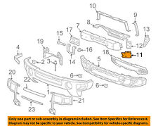 Genuine GM Parts 15264940 Passenger Side Front Bumper Bracket Genuine General Motors Parts