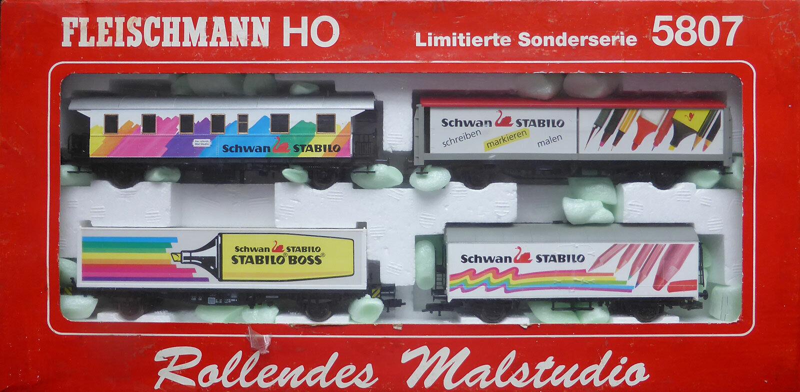 el precio más bajo Fleischmann 5807; Conjunto de Cocheros    Rolling Painting Studio  DB, en OVP  J839  grandes ahorros