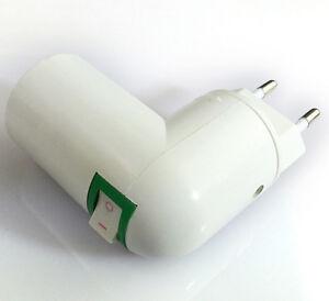e27 lampenfassung steckdose adapter halter sockel fassung halterung 360 drehung ebay. Black Bedroom Furniture Sets. Home Design Ideas