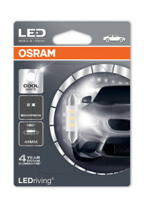 Osram-DEL-6000K-Cool-White-C5W-264-41-mm-feston-DEL-Interieur-Ampoule-6441CW-01B