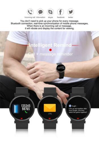 Smartwatch E28 Sphärisches Display Magnetverschluss Bluetooth Herz Pulsuhr IP68