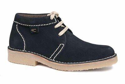camel active HAVANNA Boots Suede Stiefel midnight Nubuk blau 131.13.17 NEU | eBay