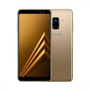 SAMSUNG-A8-DUAL-DOPPIA-SIM-2018-32GB-GOLD-ORO-5-6-4GB-OCTA-BRAND-GAR-ITA-32-GB