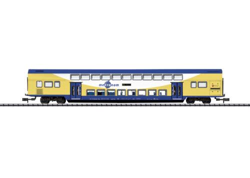 "Minitrix Trix N 15947 Doppelstock-Wagen metronom /""Beleuchtung/"" Neuware"