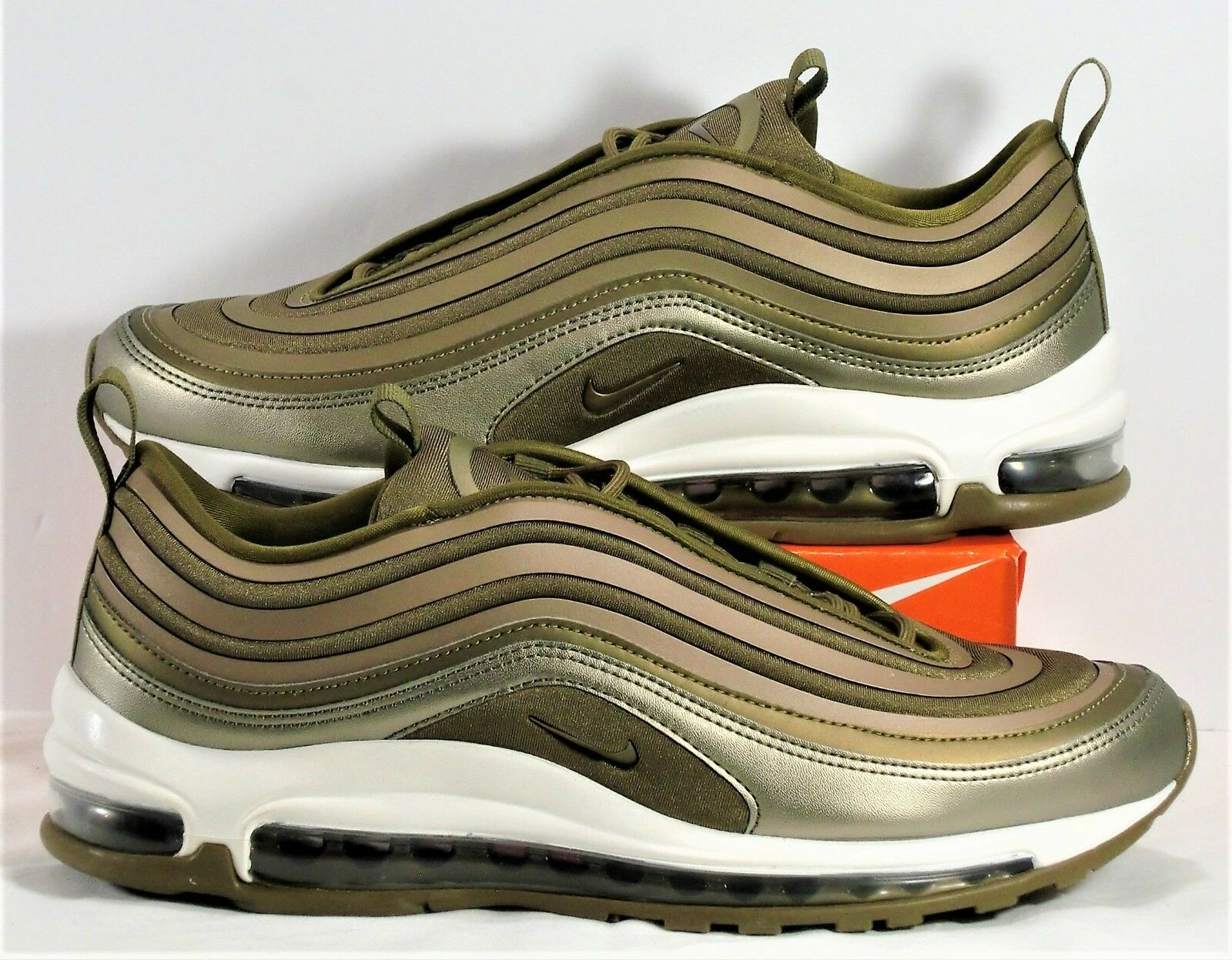 Nike Air Max 97 UL 17 Metallic Gold Womens Running Shoes Sz 9 NEW 917704 901