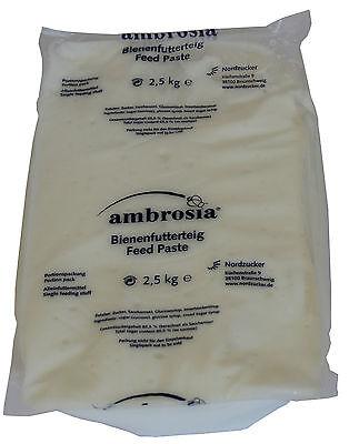 Radient Futterteig 2,5 Kg Ambrosia Bienenfutter, Teig, Reizfutter Futter, Dr. Liebig Reich Und PräChtig