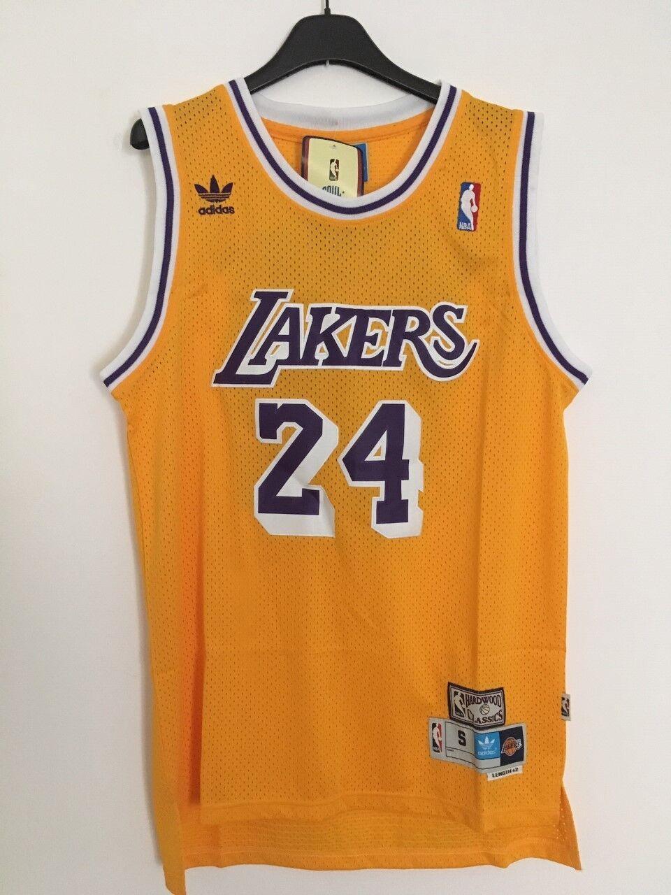 Canotta nba basket maglia Kobe Bryant jersey Los Angeles Lakers S M L XL XXL New