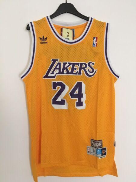 Canotta Nba Basket Maglia Kobe Bryant Jersey Los Angeles Lakers S/m/l/xl/xxl New Altamente Lucido