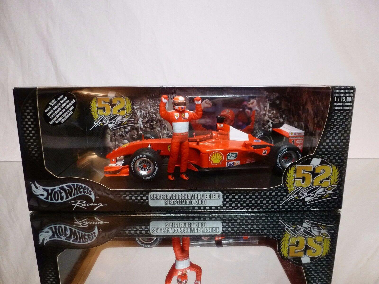 negozio fa acquisti e vendite Caliente ruedaS 55698 FERRARI F2001 - SPA SPA SPA - SCHUMACHER - F1 1 18 - EXCELLENT IN scatola  rivenditore di fitness