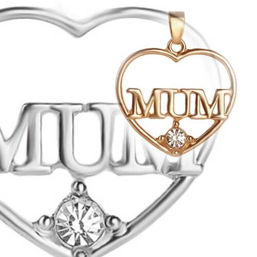 Love Heart Mother/'s Day Charm Pendant Necklace Mom Mama Mommy Gift loving mother
