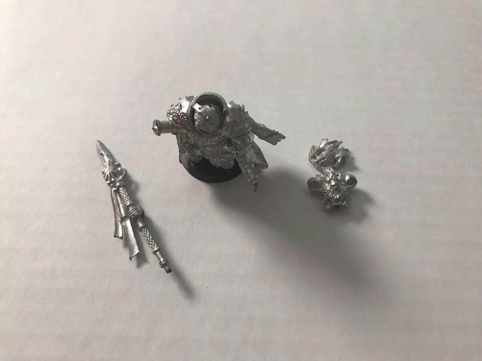 Warhammer 40k salamander - vulkan he'stan metall -