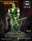 KNIGHT MODELS DC ANIMATED SERIES GREEN ARROW METAL NEW