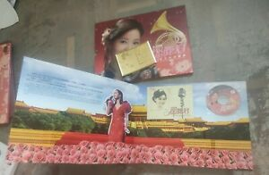 台湾邓丽君逝世15周年邮票 CD单曲专册 China Taiwan Limited Edition Teresa Teng Stamp Album 2010