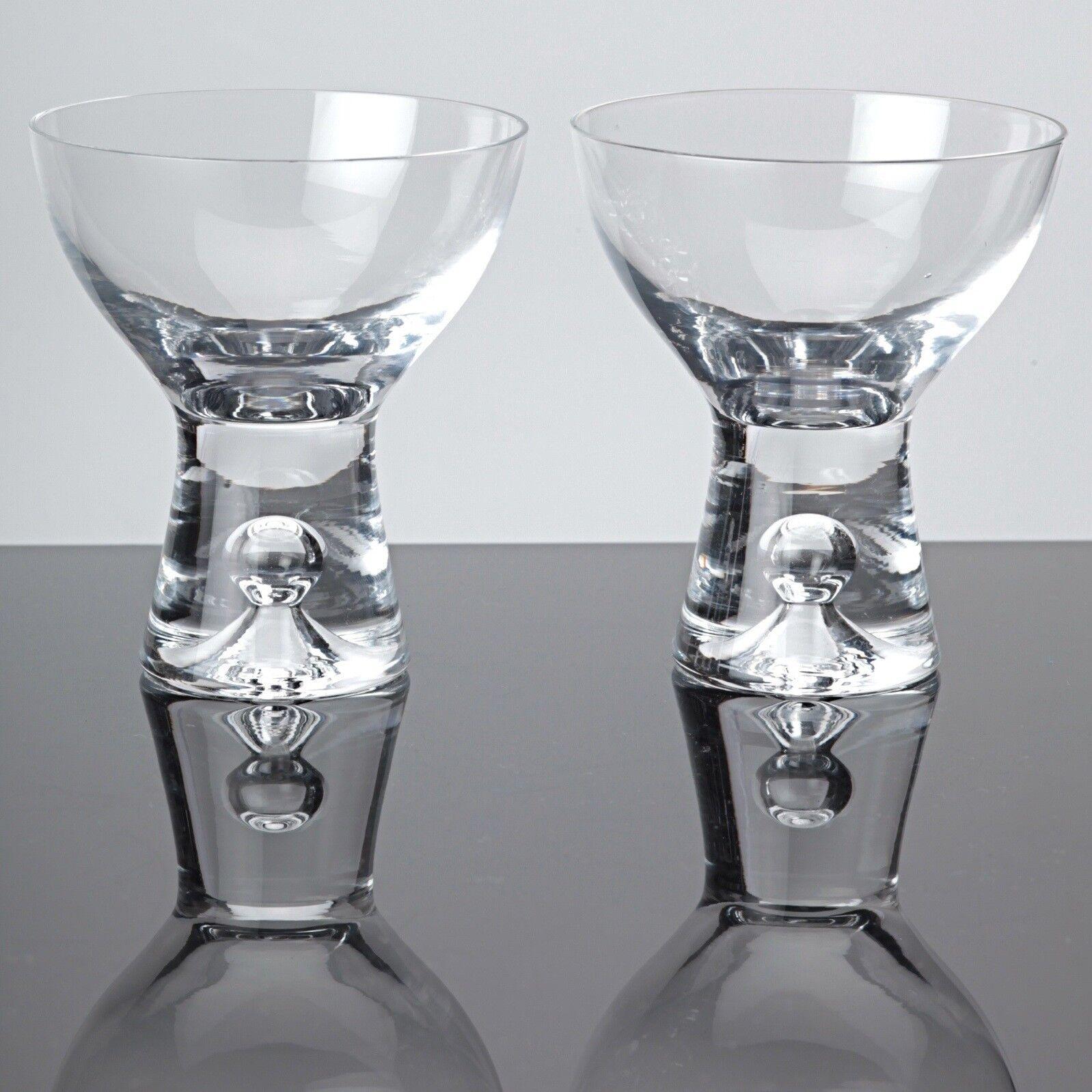 2 Gläser iittala Tapio Wirkkala 50er Likörschalen Likörgläser Vintage 8,2 cm | New Products