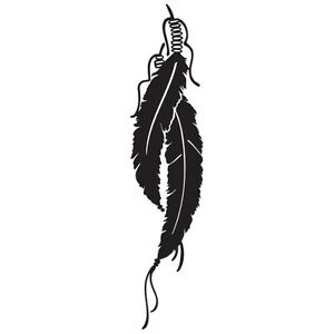 Fire Tribal Eagles Logo Vinyl Decal Sticker FE-02