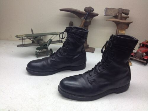 VINTAGE 1989 MADE IN USA COVE STEEL TOE  MOTORCYCL