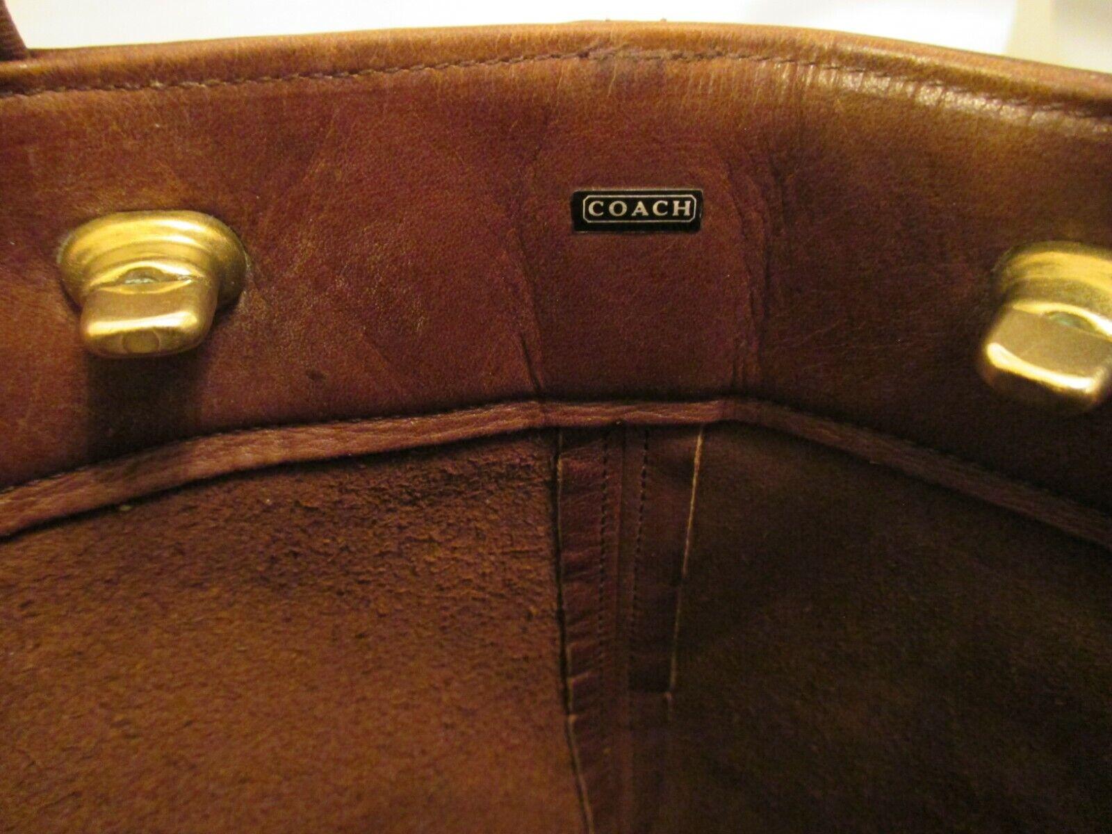 COACH Vintage Bonnie Cashin Pre-Creed Brown Leath… - image 3