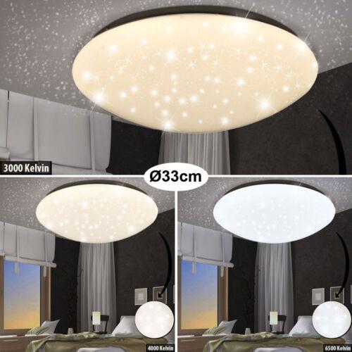 LED Decken Leuchte Sternen Himmel Effekt Beleuchtung Tageslicht Lampe Wohnzimmer