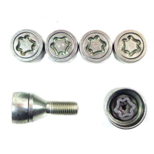 /& frontera b verrouillage roue ecrou ensemble 1999-2004 Vauxhall brava 1997-2002