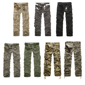 Men-Army-Combat-Pants-Military-Camouflage-Camo-Cotton-Cargo-Trousers-Outdoor