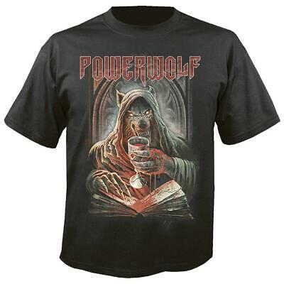 POWERWOLF POWER METAL WE DRINK YOUR BLOOD T SHIRT OFFICIAL LICENSED