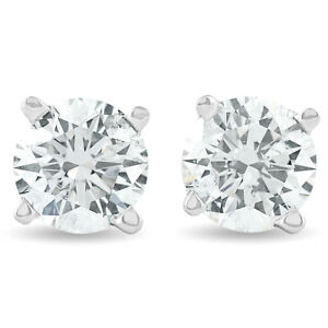 1-25-Ct-Round-Diamond-Studs-Earrings-in-14K-White-or-Yellow-Gold