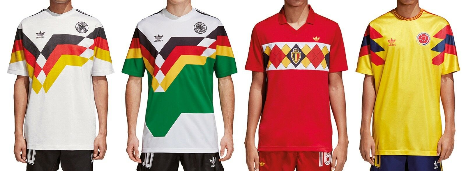 Adidas Originals Germany Colombia Belgium Jersey Trikot tricot T-Shirt