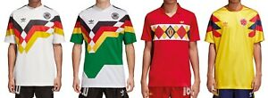 Details about Adidas Originals Germany Colombia Belgium Jersey Jersey Tricot T Shirt show original title
