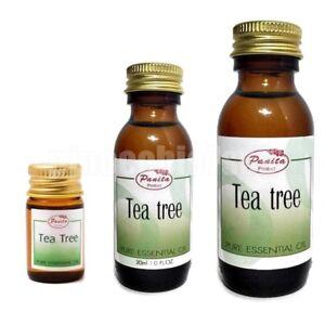 100% Pure Tea tree Essential Oil 5ml, 30ml, 60ml Free Shipping