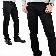 Nudie Men Jeans 111239 Grim Tim Black Ring size 38 x 32 NWT