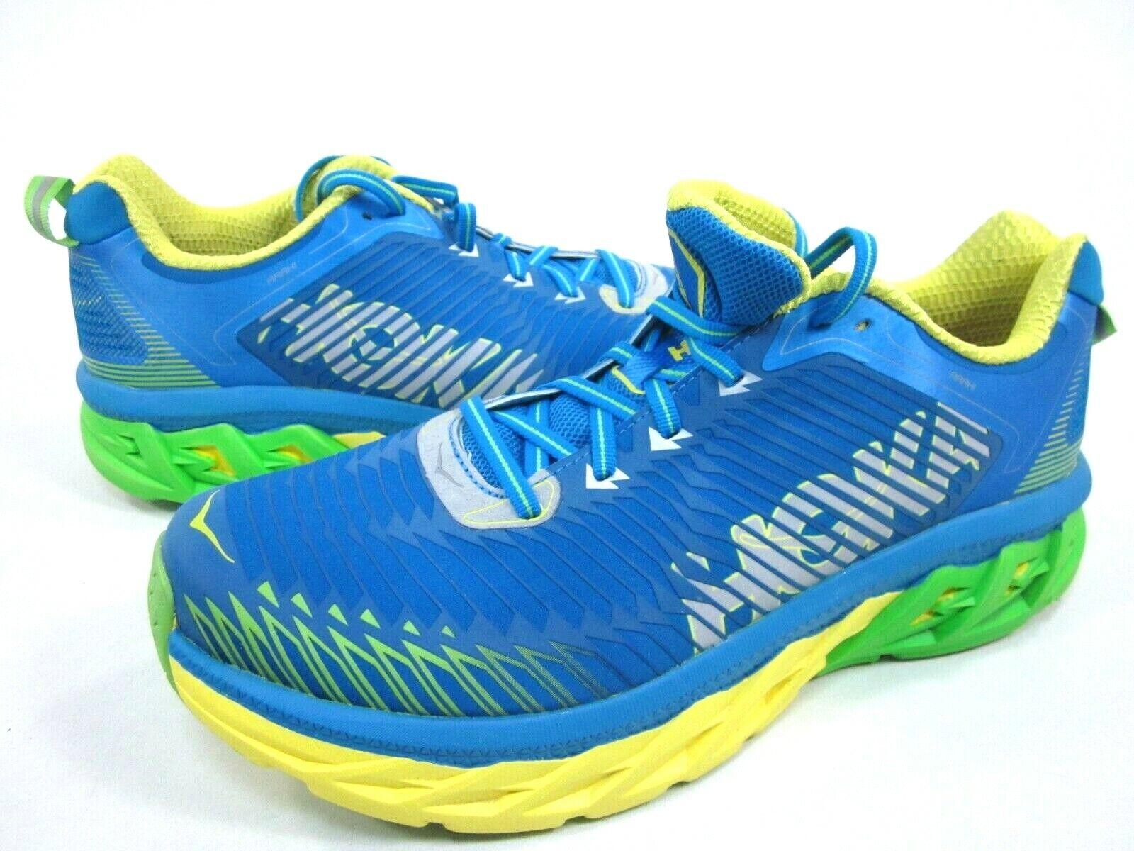 HOKA ONE Hombre Zapatos Deportivos ARAHI ONE, Azul Aster amarillo, US tamaño 10.5,