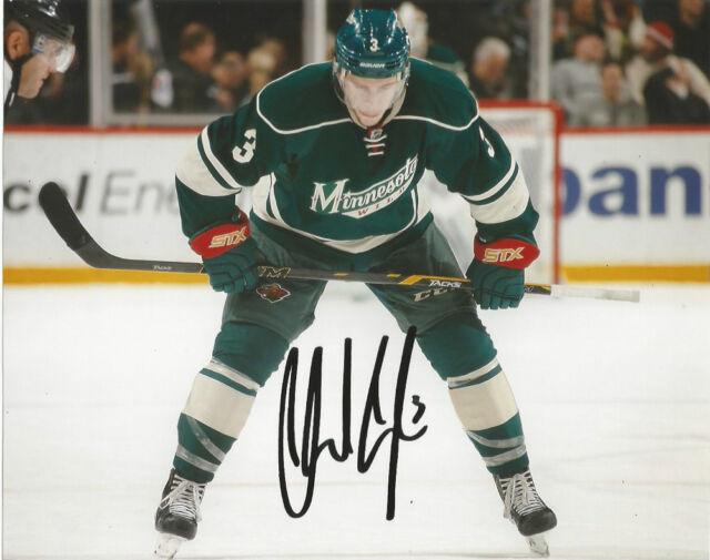 Minnesota Wild Charlie Coyle Signed Autographed 8x10 Photo COA