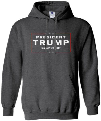 Threadrock Women/'s President Trump 2017 Inauguration Hoodie Sweatshirt