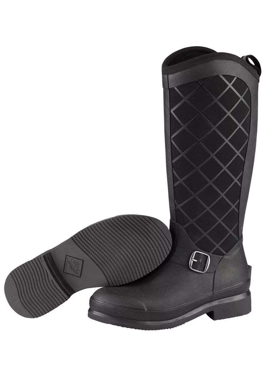 Muck Boots Pacy, Women's Ankle Riding Boots  Black UK 3 EU 36 (PCY-000) US5