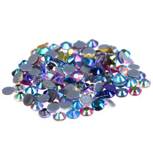 Crystal-AB-Iron-On-HotFix-Rhinestones-Crystals-Stones-Strass-for-Motif-Designs