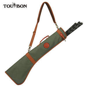 Image Is Loading Tourbon Foldable Zipper Golf Sunday Bag Canvas Leather
