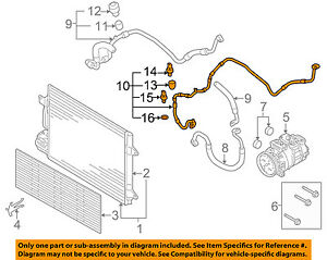 VW VOLKSWAGEN OEM 09-14 Jetta AC A/C Air Conditioner ...
