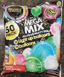 12 illooms Butterflies LED Light Up Balloons Party Kids Birthday Favor Balloon